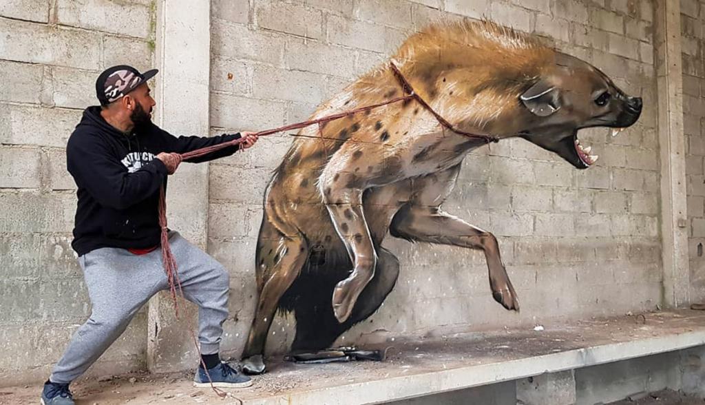 Ámulatba ejtő street art alkotások